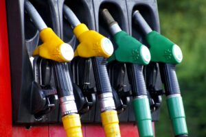 diesel, fuel, fuel pump, colours, colors, green, yellow, red, black