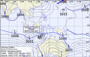 Bureau of Meteorology Pacific Ocean