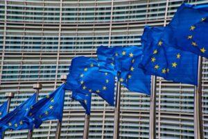 europe, ce, european comission, ,flags, blue